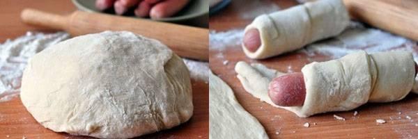 Быстрое блюдо для особых случаев - сосиски в слоеном тесте