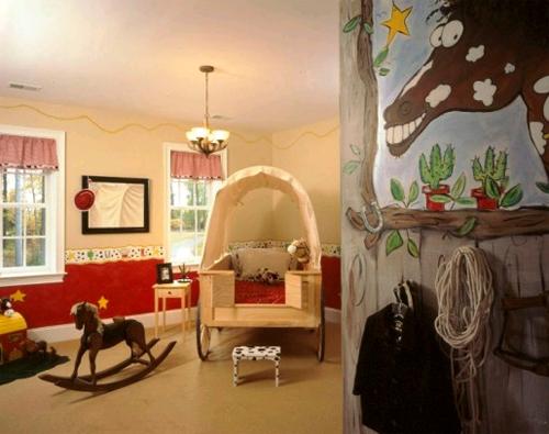 Детская комната для маленького ковбоя