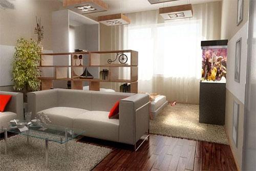 Дизайн интерьера однокомнатной квартиры: особенности и тонкости
