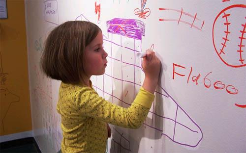 Интерьер детской комнаты своими руками: совместное творчество