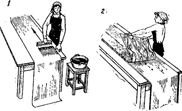 Как клеить флизелиновые обои своими руками: технология (фото и видео)