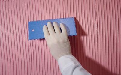 Как сделать фактурную штукатурку: пошаговая инструкция