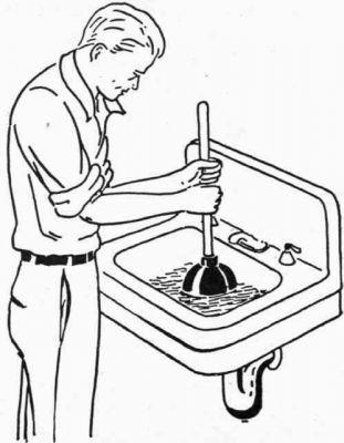 Как устранить засоры в кухонных раковинах?