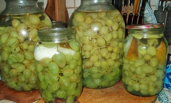 Рецепты компота из винограда на зиму на любой вкус