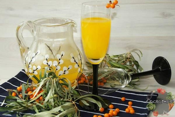 Сок из облепихи на зиму  секрет вкуса и хранения, рецепты :фото