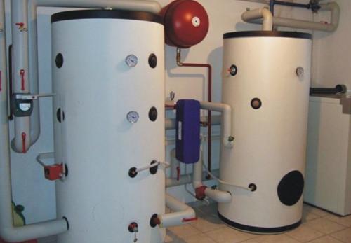 Теплоаккумулятор: принцип работы, применение в системе отопления
