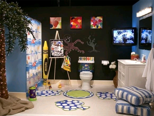 Ванная комната для детей