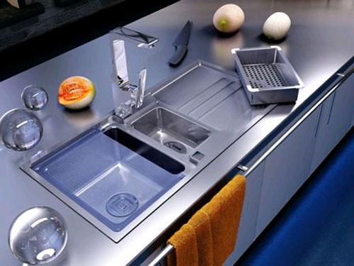 Выберите современную кухонную мойку