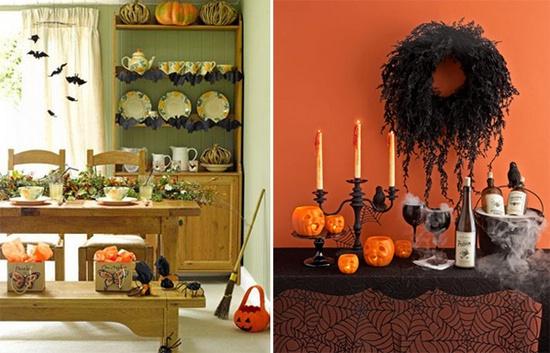 Декор на Хэллоуин без затрат