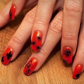 Рисунки на ногтях для Хэллоуина