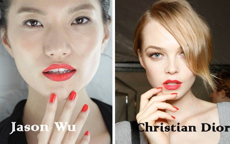 Модные ногтевые тенденции 2012