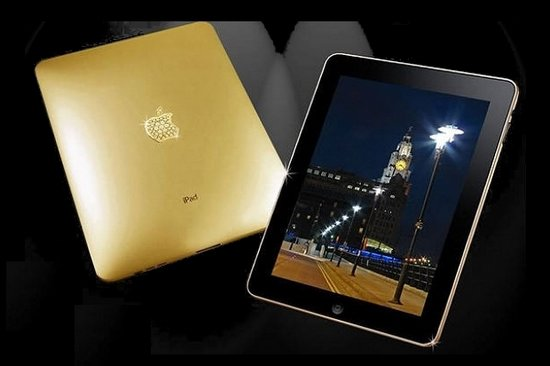 iPad Supreme Gold Edition