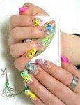 Идеи рисунков на ногтях в молодежном стиле