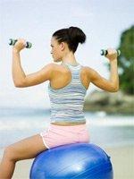 Упражнения с фитнес-мячом
