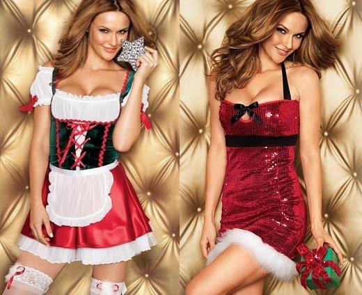 Сексуальные новогодние костюмы